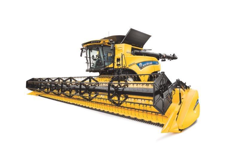 Asaja - La cosechadora New Holland CR Revelation vuelve a elevar los ...